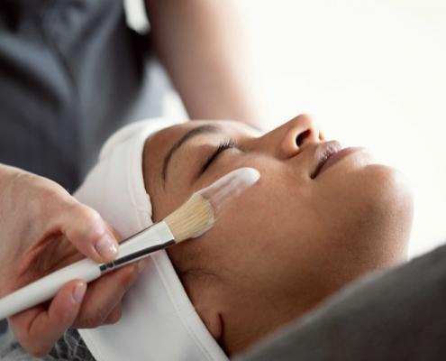 Facials Course student at Bristol Beauty School