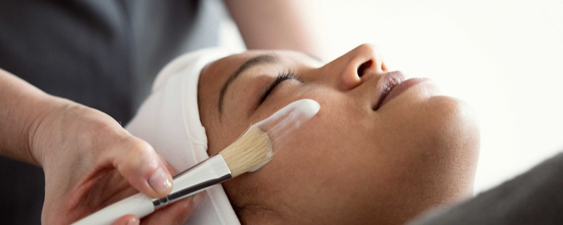 Facials Course student at Bristol Beauty School