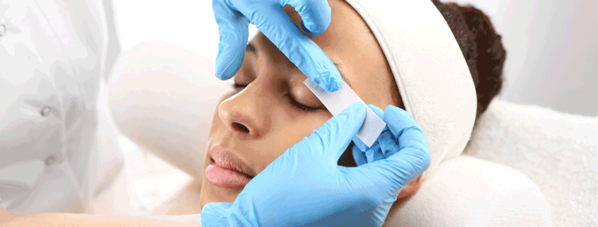 facial and brow waxing training