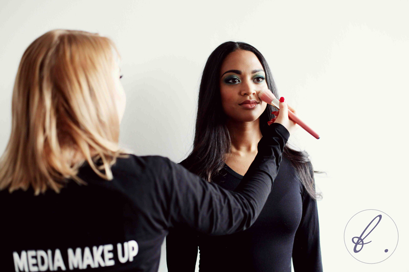 full on galm makeup course model